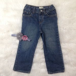 5/$25🎀 The Children's Place Straight Leg Jeans